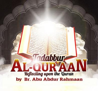 Tadabbur al-Qur'aan