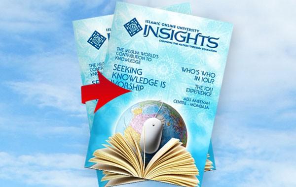Highlight in IOU Insight Magazine